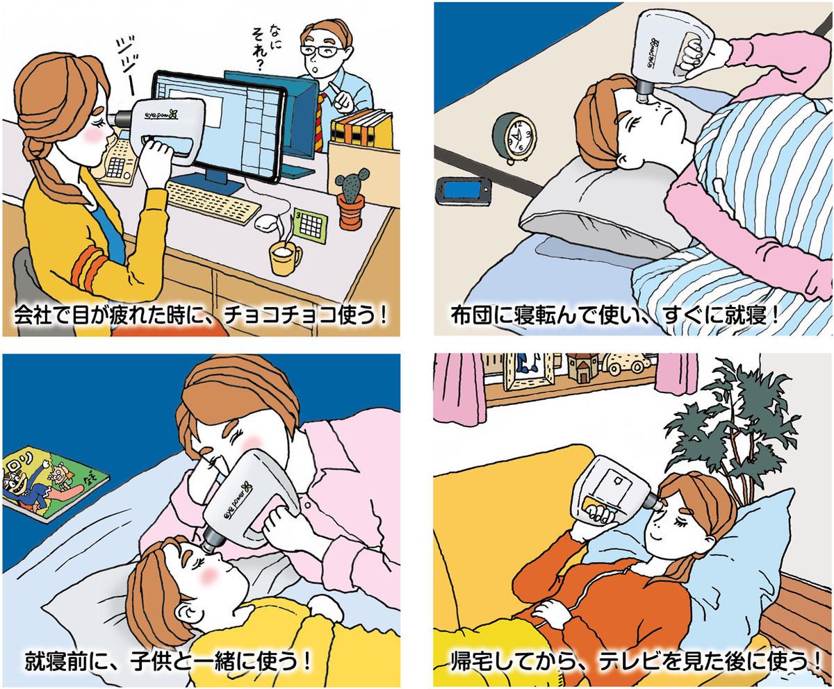 超音波治療器の利用シーン