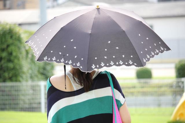 熱中症予防に日傘