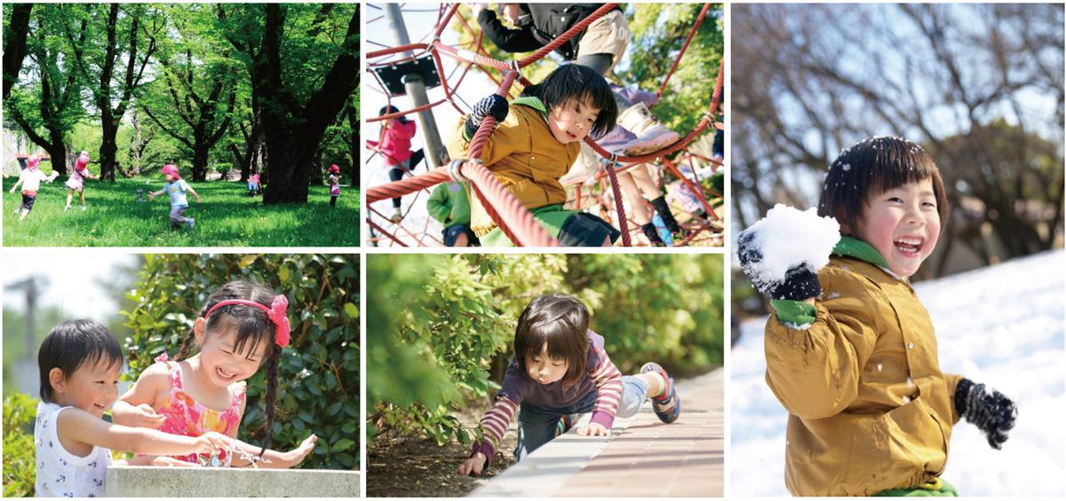 子どもは屋外で遊ばせると近視になりにくい